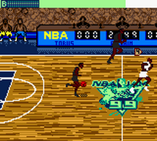 NBA Jam '99 ingame screenshot