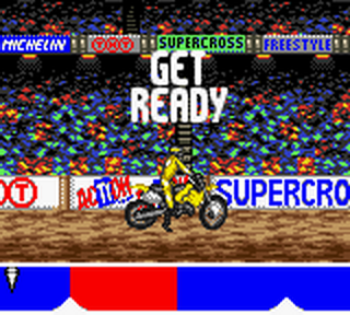 Supercross Freestyle ingame screenshot
