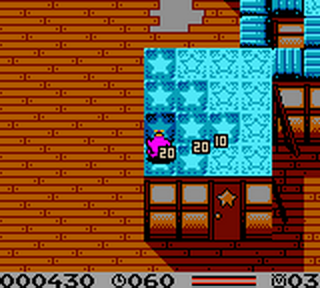 Tiny Toon Adventures - Dizzy's Candy Quest ingame screenshot