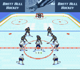 Brett Hull Hockey ingame screenshot