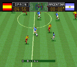Capcom's Soccer Shootout ingame screenshot