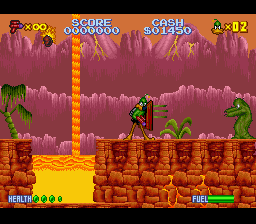 Daffy Duck - The Marvin Missions ingame screenshot