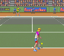 David Crane's Amazing Tennis ingame screenshot