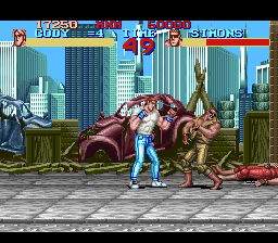 Final Fight ingame screenshot