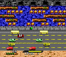 Frogger ingame screenshot