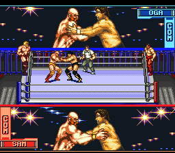 Hammer Lock Wrestling ingame screenshot