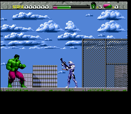 Incredible Hulk, The ingame screenshot