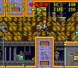 Jetsons, The - Invasion of the Planet Pirates ingame screenshot