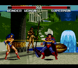 Justice League Task Force ingame screenshot