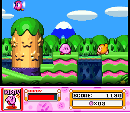 Kirby Super Star ingame screenshot