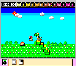 Mario Paint ingame screenshot
