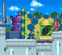 Mega Man 7 ingame screenshot