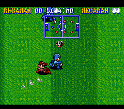 Mega Man Soccer ingame screenshot