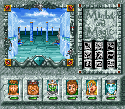 Might and Magic III - Isles of Terra ingame screenshot