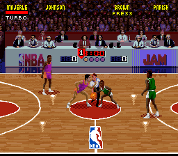 NBA Jam ingame screenshot