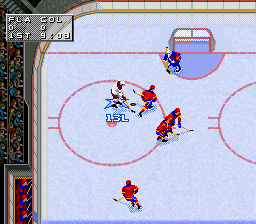 NHL '97 ingame screenshot