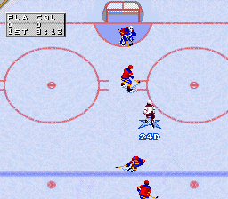 NHL '98 ingame screenshot