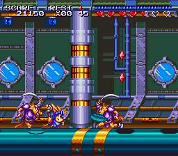 Sparkster ingame screenshot