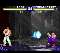 Street Fighter Alpha 2 ingame screenshot