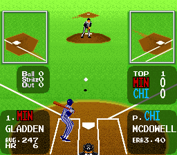 Super Batter Up ingame screenshot