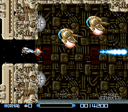 Super R-Type ingame screenshot