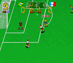 Super Soccer Champ ingame screenshot