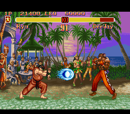 Super Street Fighter 2 - The New Challengers ingame screenshot