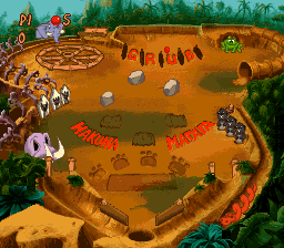 Timon & Pumbaa's Jungle Games ingame screenshot