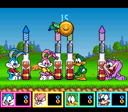Tiny Toon Adventures - Wacky Sports Challenge ingame screenshot