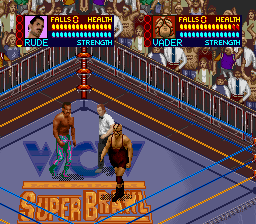 WCW Super Brawl Wrestling ingame screenshot