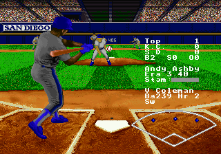 RBI Baseball '95 ingame screenshot