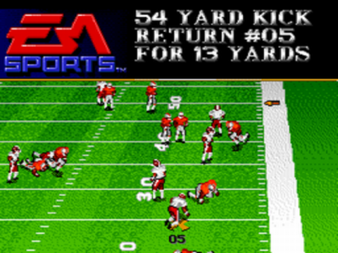 Bill Walsh College Football ingame screenshot