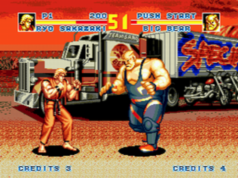 Fatal Fury Special ingame screenshot