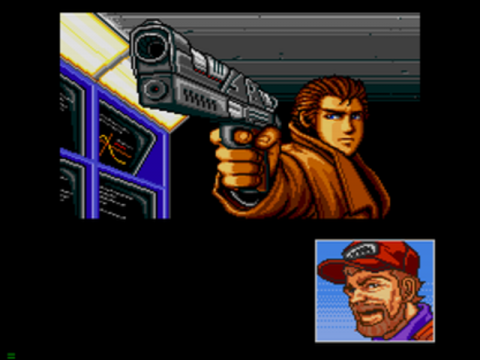 Snatcher ingame screenshot