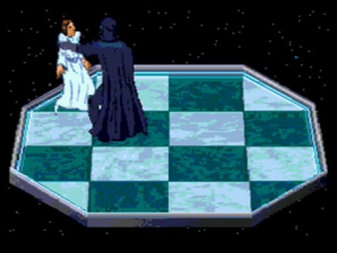Star Wars Chess ingame screenshot