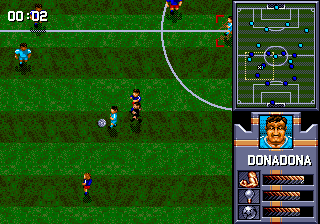 AWS Pro Moves Soccer ingame screenshot