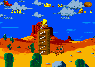 Cheese Cat-Astrophe Starring Speedy Gonzales ingame screenshot
