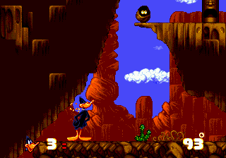 Daffy Duck in Hollywood ingame screenshot