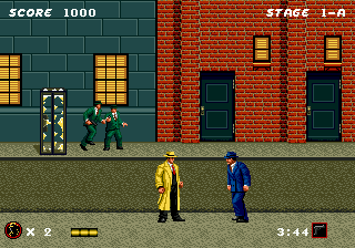 Dick Tracy ingame screenshot