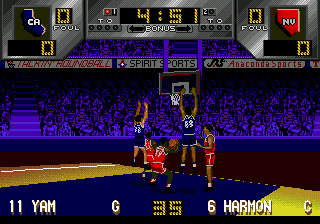 Dick Vitale's 'Awesome, Baby!' College Hoops ingame screenshot