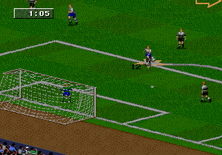 FIFA Soccer 98 - Road to World Cup ingame screenshot
