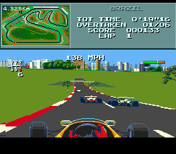 Formula One ingame screenshot