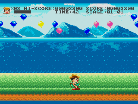 Funny World & Balloon Boy ingame screenshot