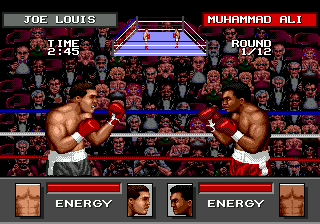 Greatest Heavyweights ingame screenshot
