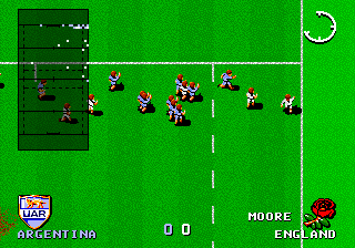 International Rugby ingame screenshot