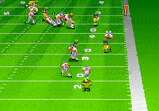 Madden NFL 98 ingame screenshot