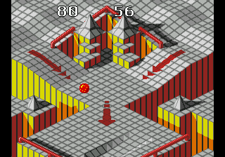 Marble Madness ingame screenshot