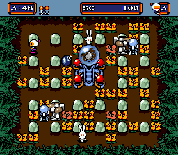 Mega Bomberman ingame screenshot