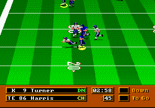 Mike Ditka Power Football ingame screenshot