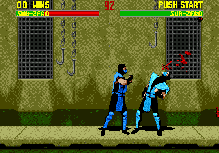 Mortal Kombat 2 ingame screenshot